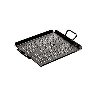 Lodge Pre-Seasoned Carbon Steel Grilling Pan