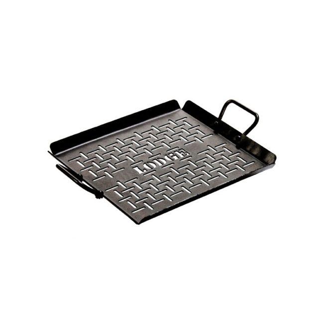 Lodge Pre-Seasoned Carbon Steel Grilling Pan