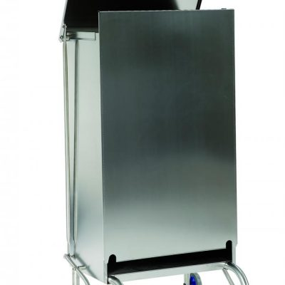 GI-Metal 100 Litre Stainless Steel Refuse Bin