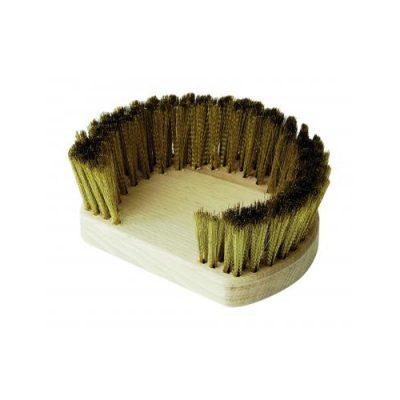 GI-Metal Replacement Brass Horseshoe Brush